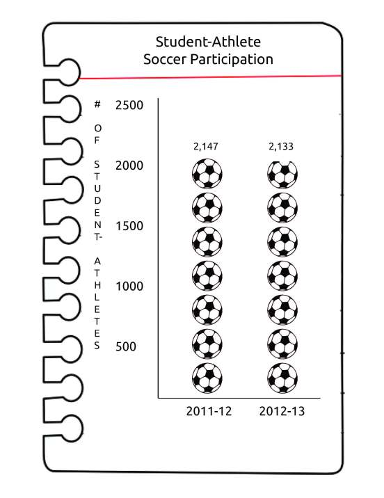 soccer participation
