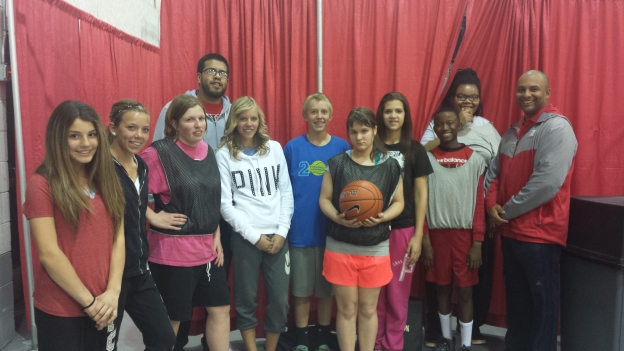 Del Webb and Liberty unified basketball