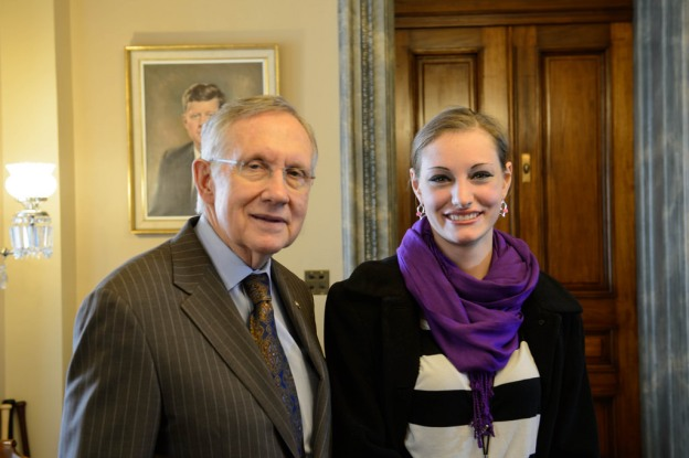 Senator-Harry-Reid-Nevada-Athlete-Hannah