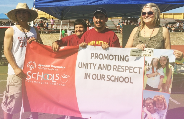 Liberty High School Brentwood Project UNIFY banner