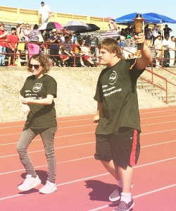 Torch Run Special Olympics Liberty High School Brentwood California copy